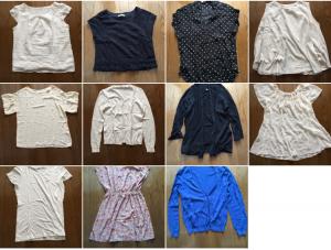 一足早く衣替えをして、物欲と向き合う。ミニマリストな私の夏服全部見せます!〜トップス編〜