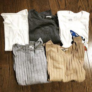 【捨て活】洋服5着捨て活。少ない服で着回すのはメリットだらけだと改めて思った件。