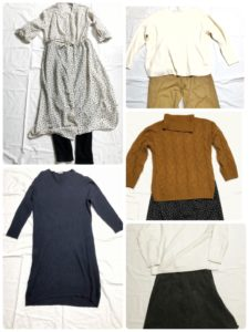 【私服の制服化】ミニマリストな私の3月に着回す5パターン、大公開します!!(2019年)