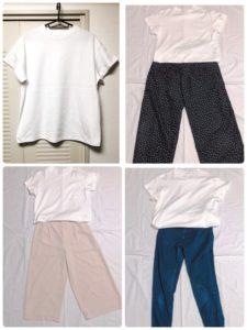 【GU】夏の必須アイテム白TシャツはGUのスムースT一択な件。