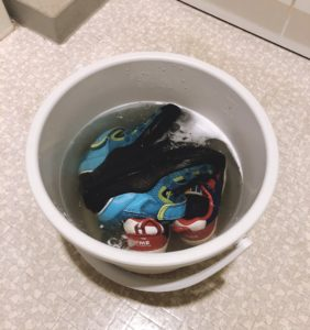 【家事のミニマル化】靴洗いの手間のミニマル化に成功した件。