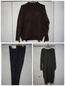 【ユニクロ購入品】ミニマリストな私のちょっと早めの冬支度で買った3着。