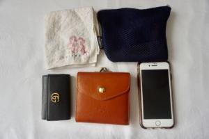 【荷物を少なくするコツ】ミニマリストな私のバッグの基本5点セット