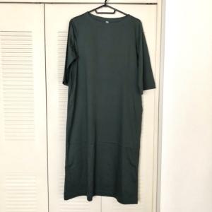 【ユニクロ購入品】秋服ワンピース購入してきました!
