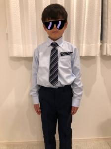 【イオン】卒園・入学式用に購入したシャツ(ネクタイ付き)とローファーの到着レポ!